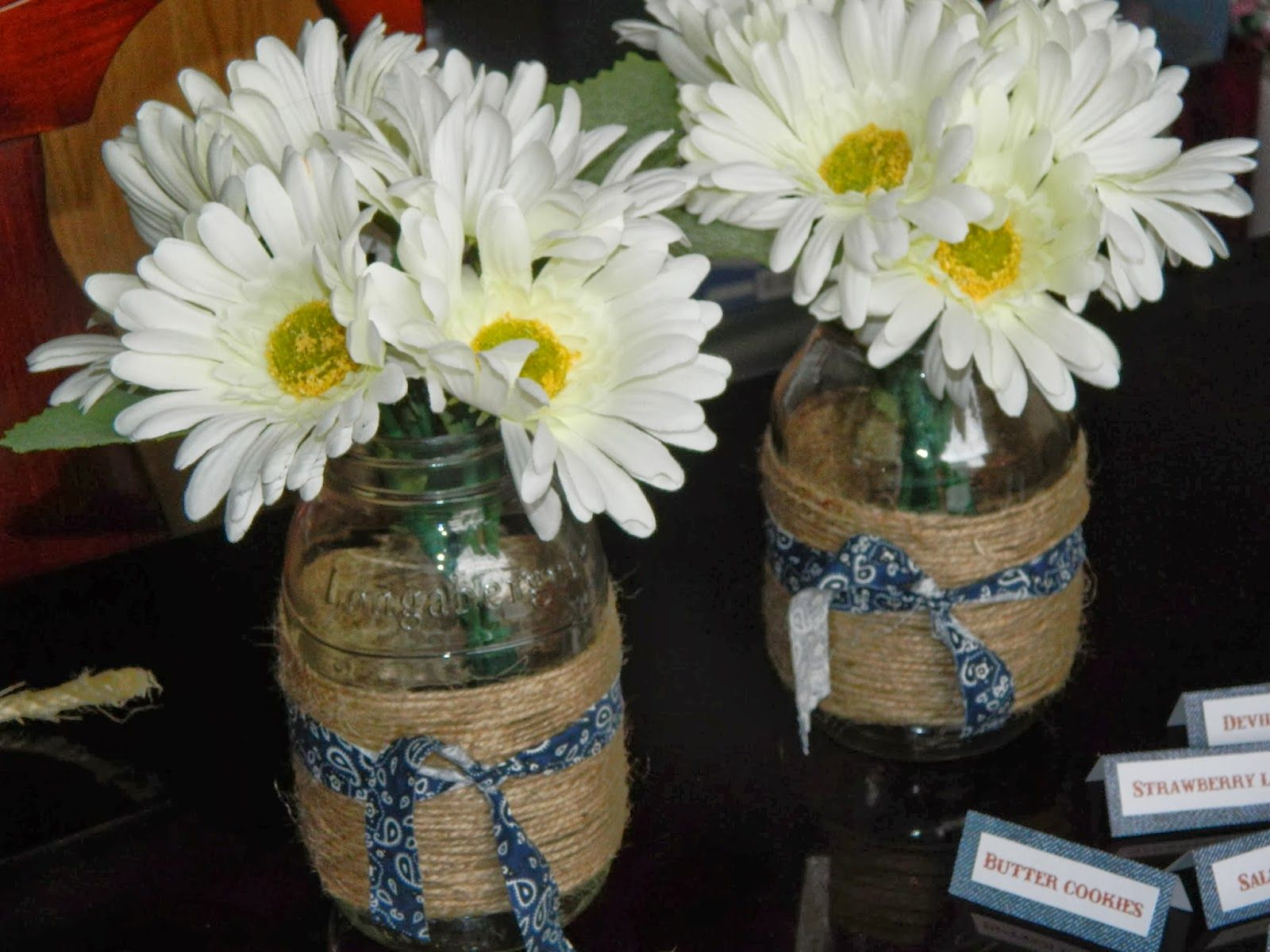 For Cowboy Baby Shower Centerpieces