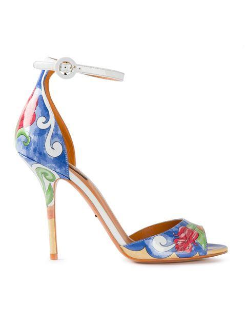 Dolce & Gabbana Sandales Keira - Polychromes woCeJo1f