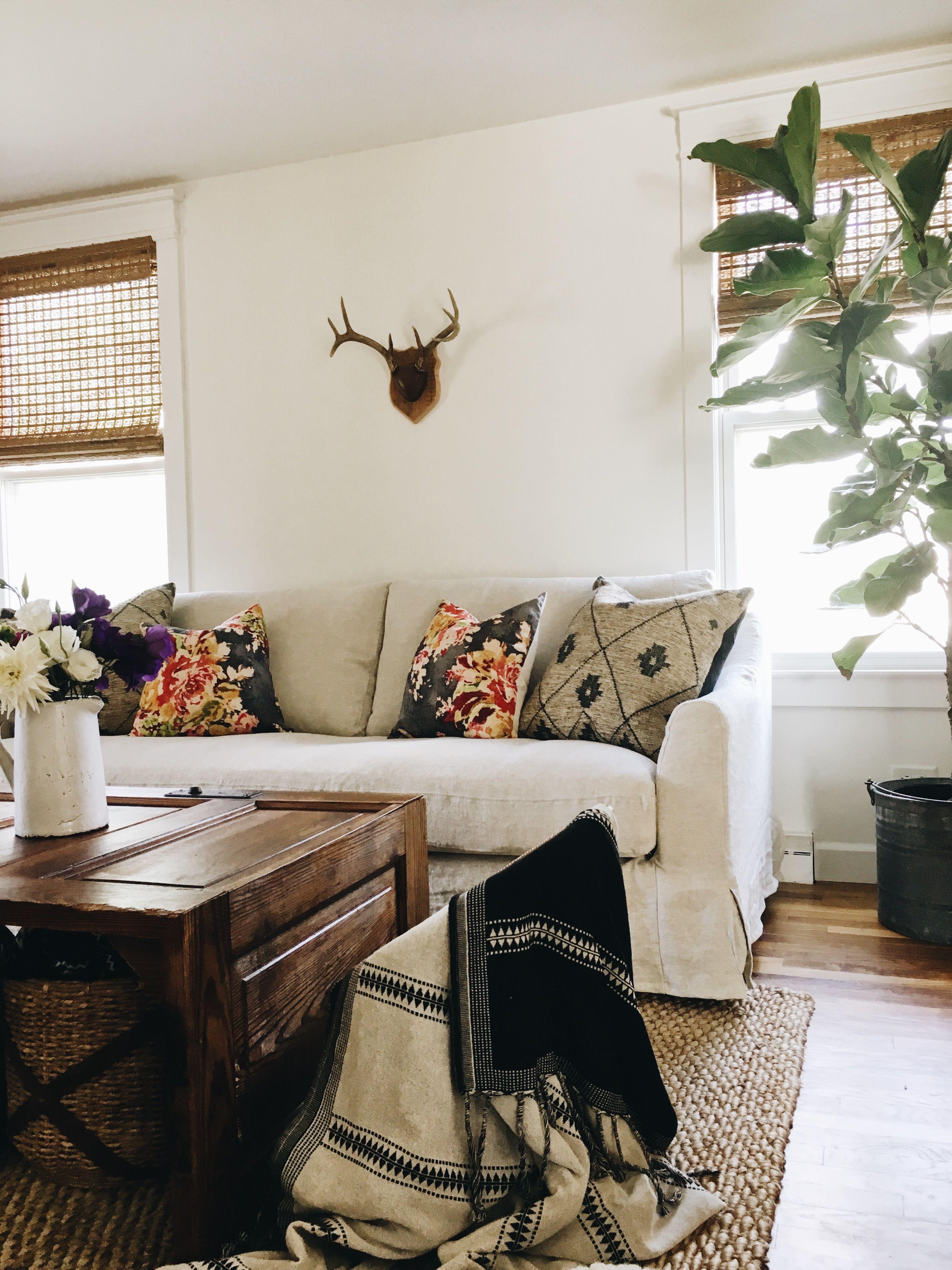 F rl v 3 seater sofa cover fiddle leaf tree white for Blog design ideas