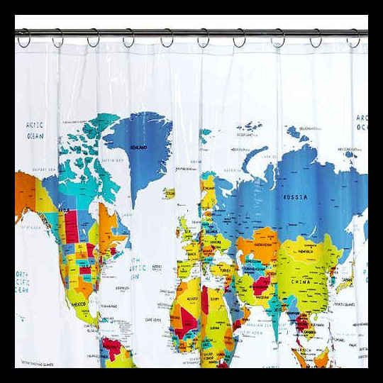 Camping essentials awesome camping gadgets you can get more world map shower curtain target gumiabroncs Images