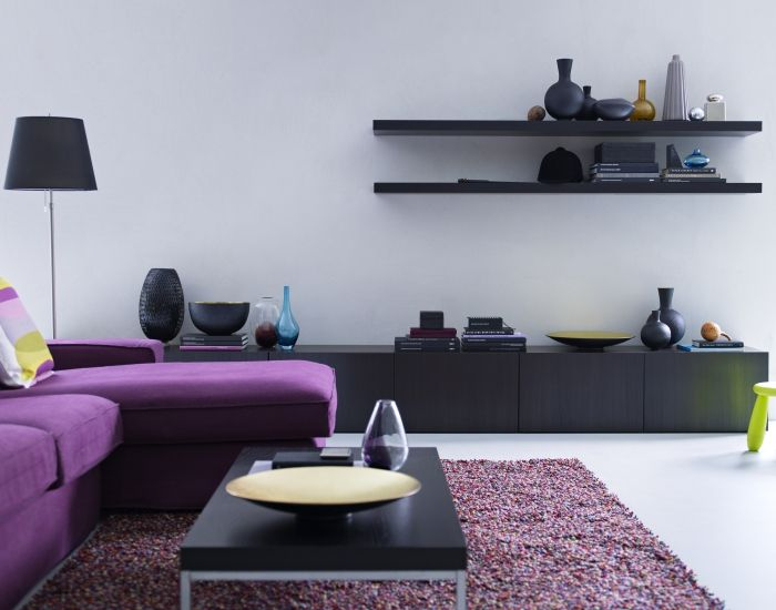 Best storage system is the neat and stylish way to - How to organize your living room furniture ...