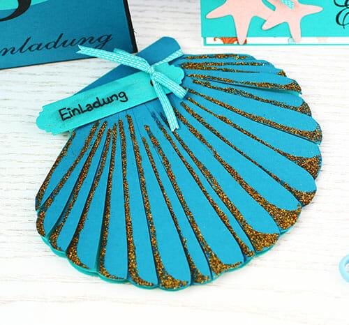 Meerjungfrauen Geburtstag   Ideen für Einladungskarten und Torte - Faminino