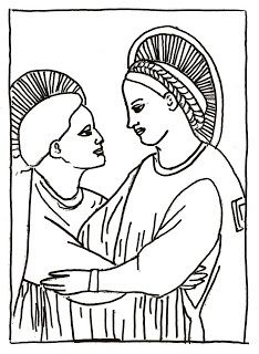 Image Result For Black And White Coloring Sheets Giotto Art