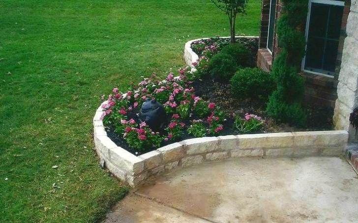 Gartenmauer aus Ziegelsteinen selber bauen - Anleitung - DIY, Garten