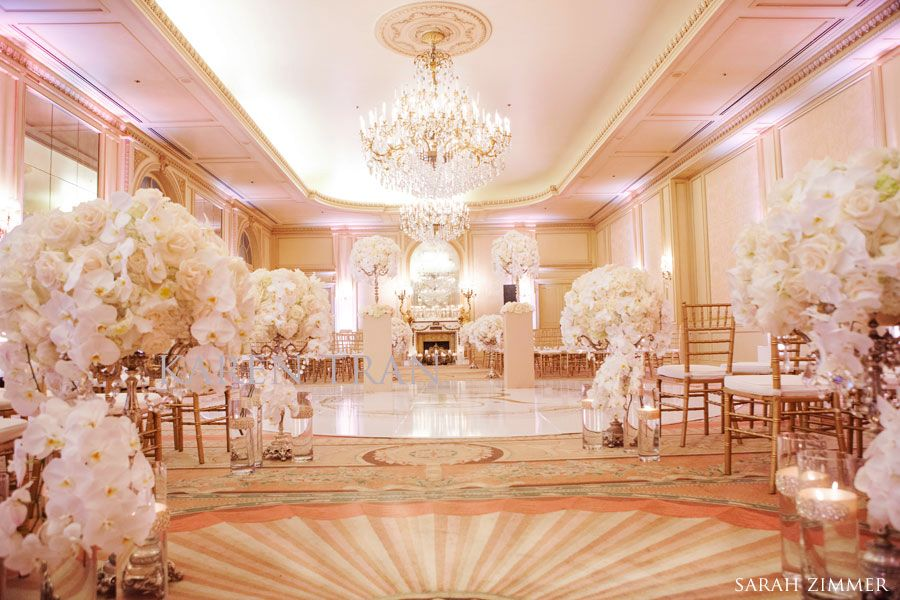 French baroque versailles themed vintage splendor wedding for Hotel wedding decor