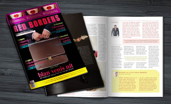 17 Free Magazine Indesign Template for Editorial Project | Table of ...