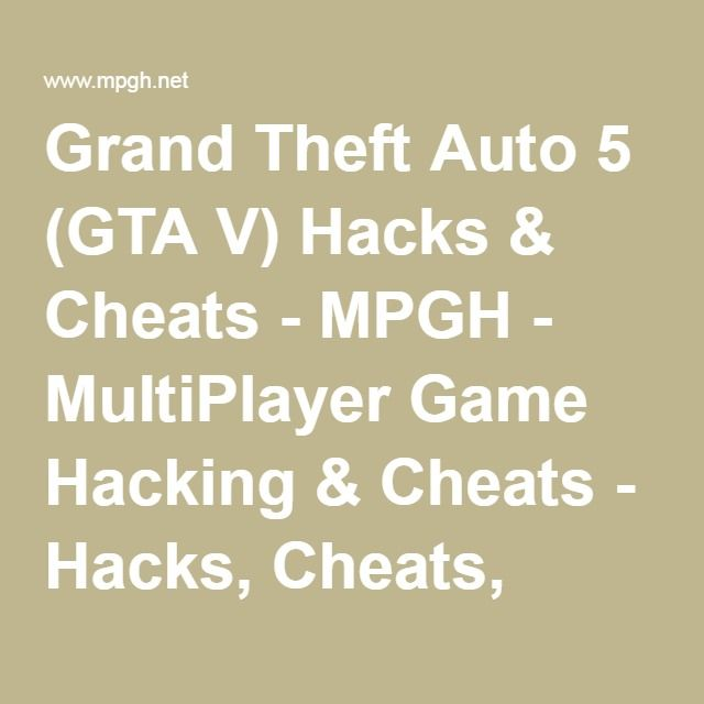 Mpgh multiplayer game hacking cheats