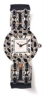 """Cartier's first piece with the panther-skin motif, from 1914.   """"Cartier Jewelers Extraordinary"""" Hans Nadelhoffer, Chronicle books, 2007"""