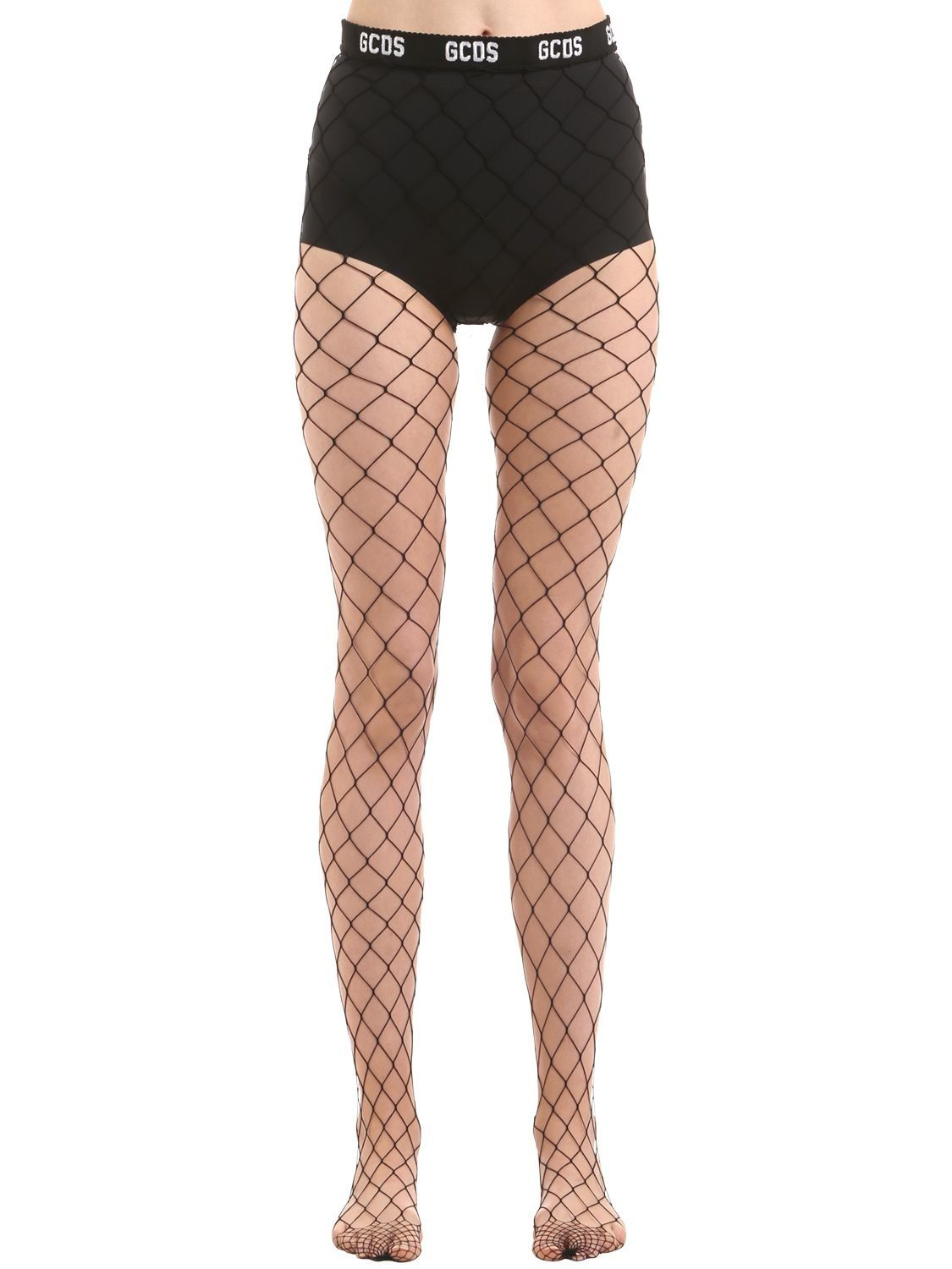 332f60acc GCDS BIG FISHNET STOCKINGS.  gcds  cloth