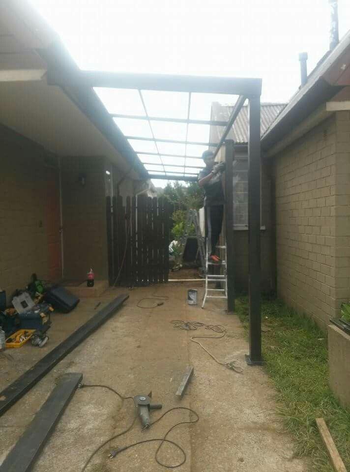 Terrazas techos patios cubiertos estructuras de fierro y - Estructuras para terrazas ...