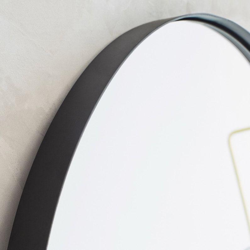 Miroir Rond Neutral Noir Diam 40 Cm In 2020 Met Afbeeldingen