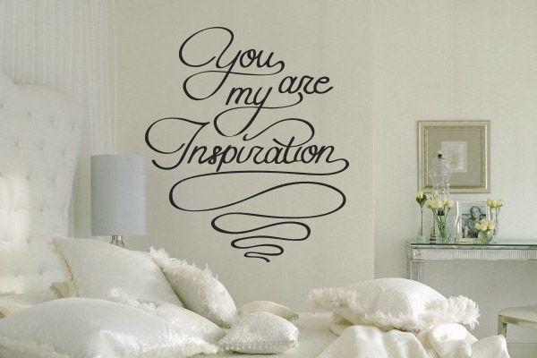 Adesivo de Parede You Are My Inspiration