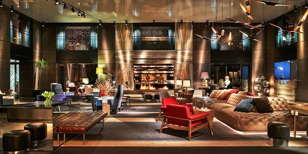 New York City Hotels Paramount Hotel New Interior Design Times Square Hotels