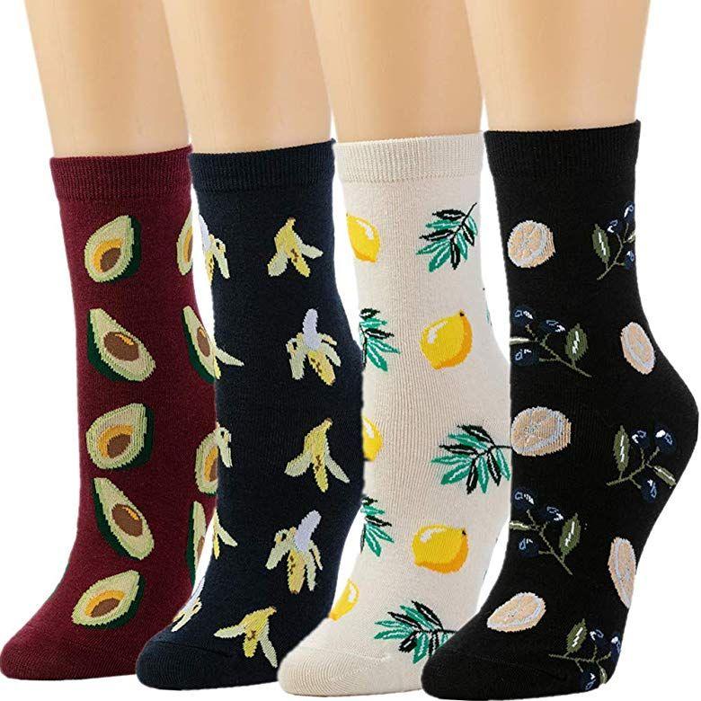 5 pairs Emoji Print 3D print ankle women socks socks cheap US SELLER