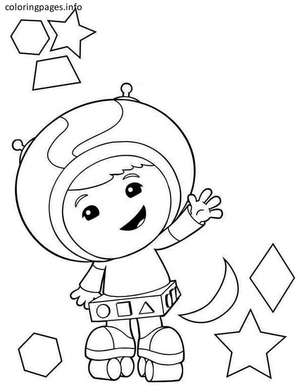 Team Umizoomi Geo Coloring Pages Coloring Pages Team Umizoomi Cool Coloring Pages