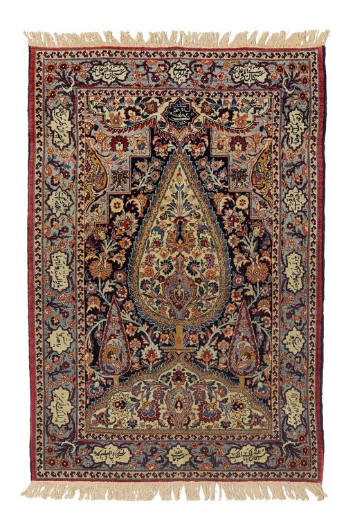 Mashad Signed Antique 92x135 Cm Antique Persian Carpet Rugs On Carpet Carpet Handmade
