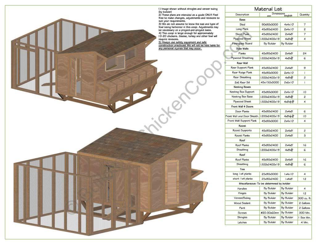 Diy hen houses