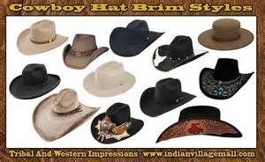 26f6f24c0 Cowboy Hat Styles Shapes Brim styles of cowboy hats | Western Style ...