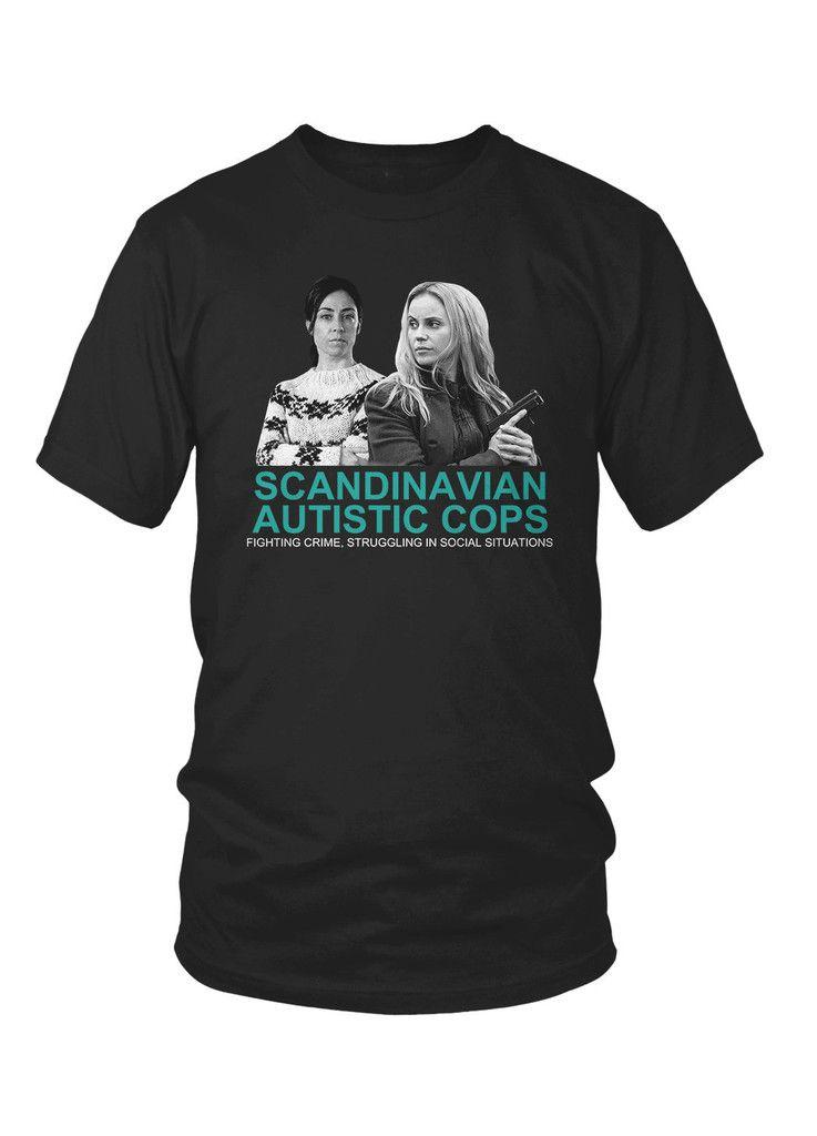 2a27dcae01 The Daily Mash Scandinavian Autistic Cops Mens Sports Grey T Shirt