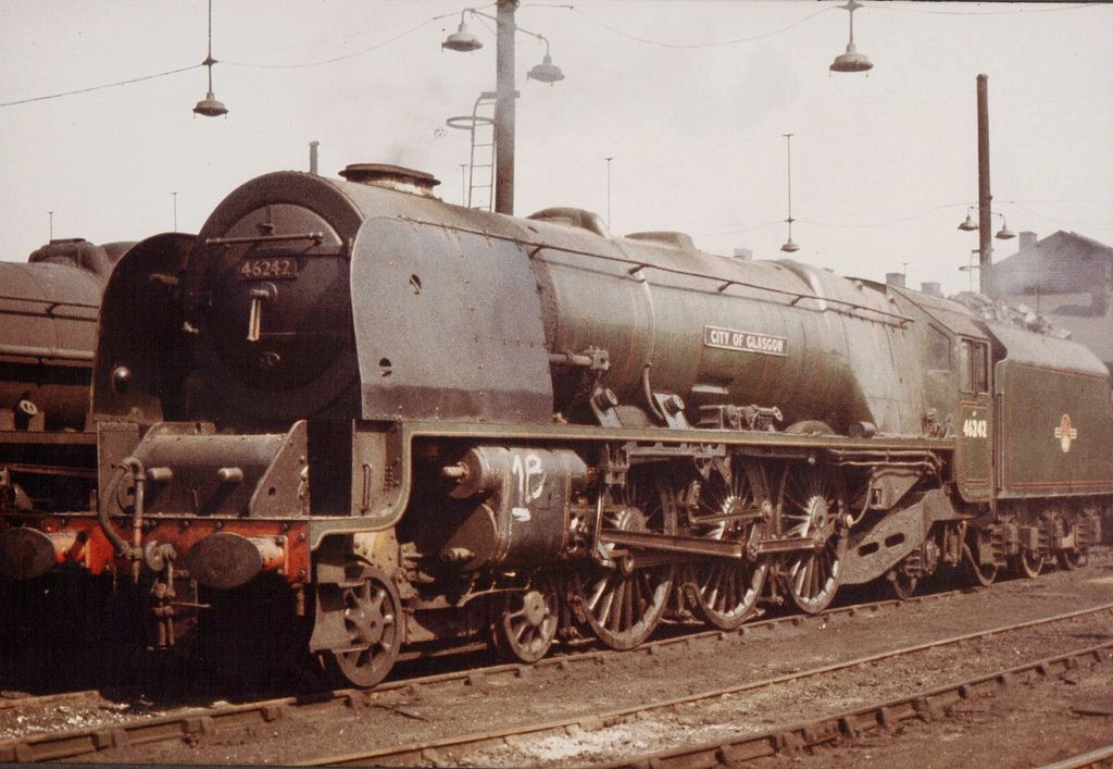 46242 'City of Glasgow'. Coronation Class 4-6-2. Photo by Steven Toogood