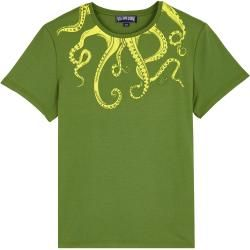 Photo of Men Ready to Wear – Octopussy cotton T-shirt for men – T-shirt – Tao – Green – Xxxl – Vi