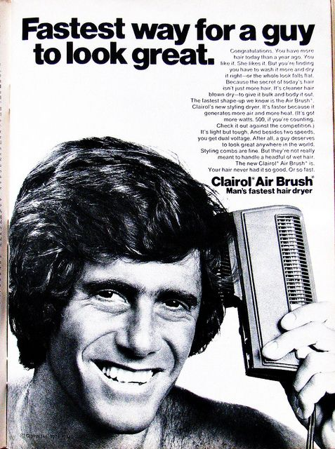 Clairol Air Brush...My dad had one