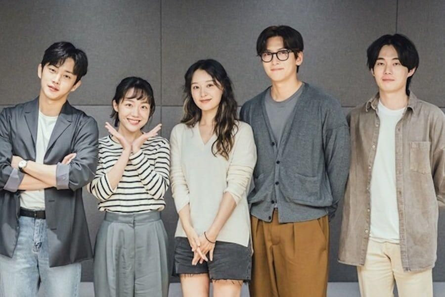 Ji Chang Wook, Kim Ji Won, Kim Min Seok, And More Hold Script Reading For Upcoming Romance Drama