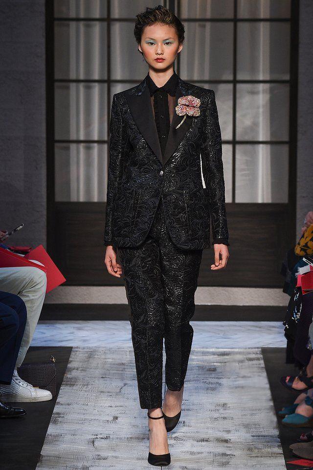 Schiaparelli fall 2015 couture runway