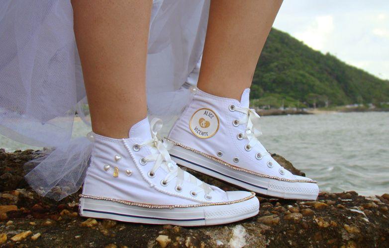 Lapupa ❤ Lovely way | Sapatos de noiva pintados à mão