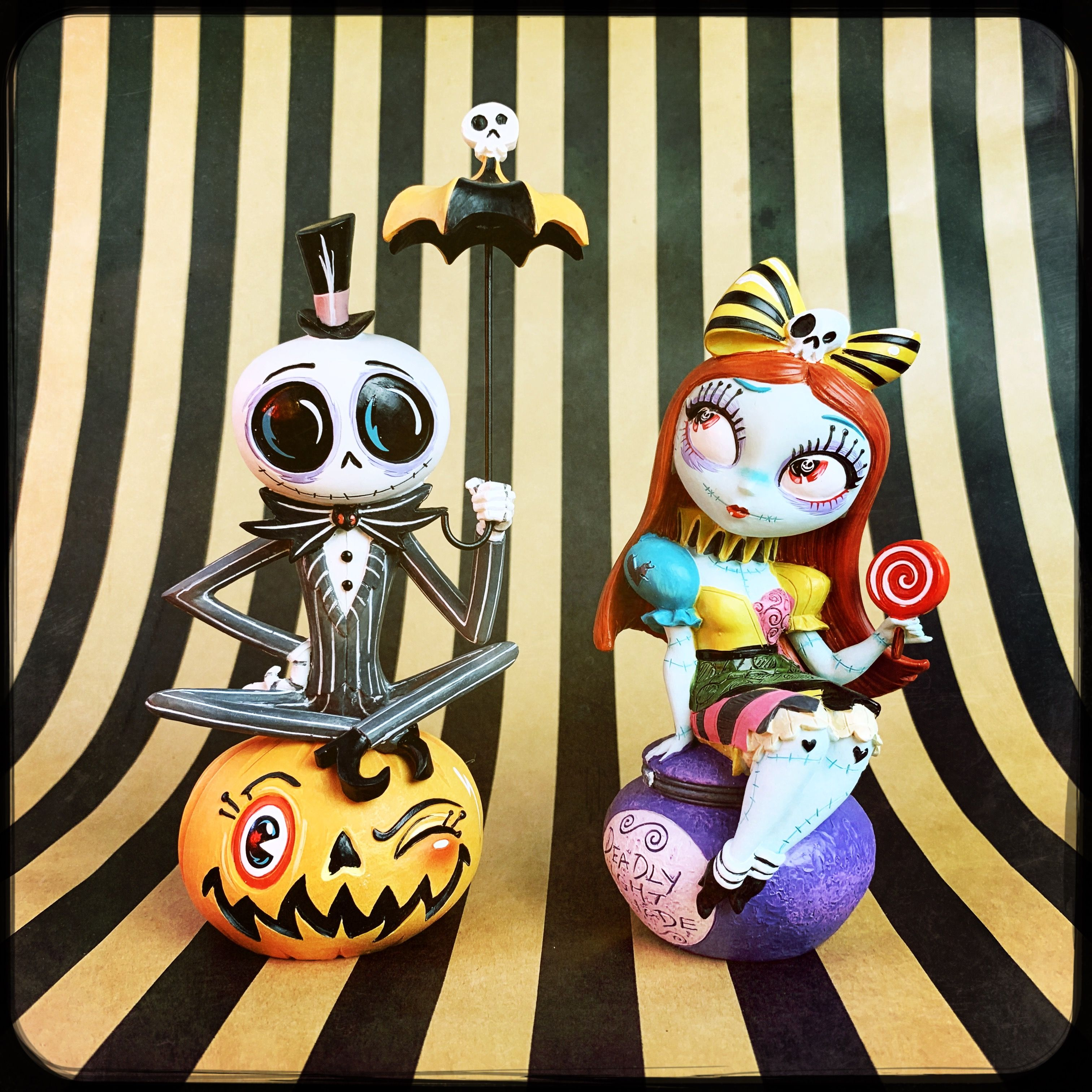 Jack Sally By Artist Miss Mindy Jack And Sally Halloween Inspiration Nightmare Before Christmas