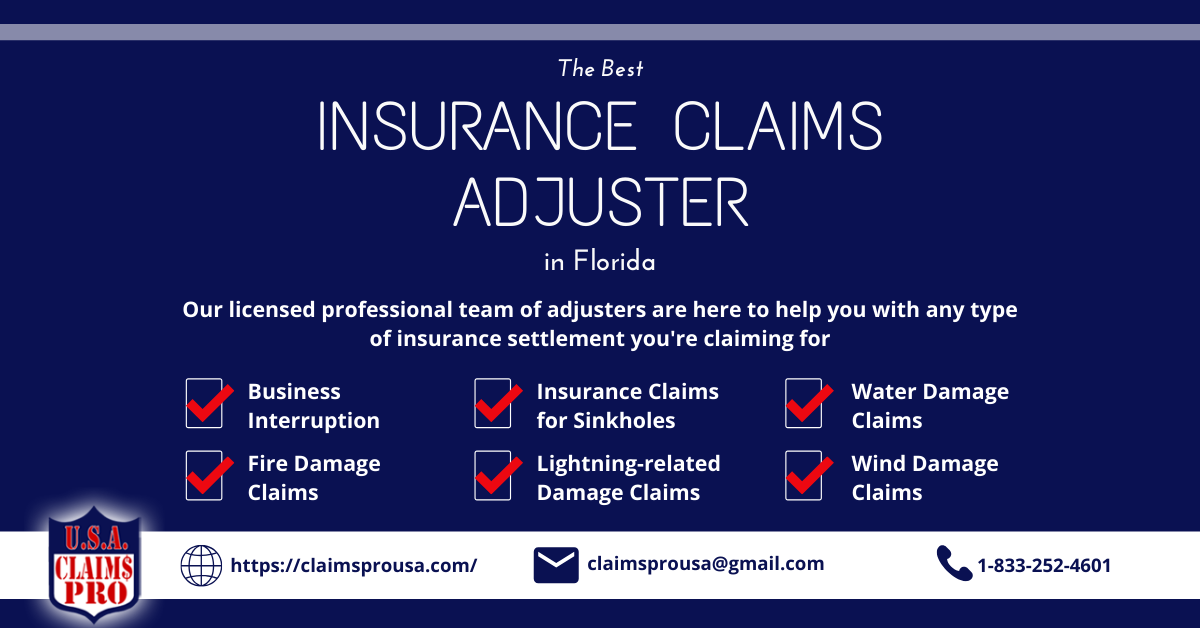 The Best Insurance Claims Adjuster In Florida In 2020 Best Insurance Being A Landlord Business Insurance