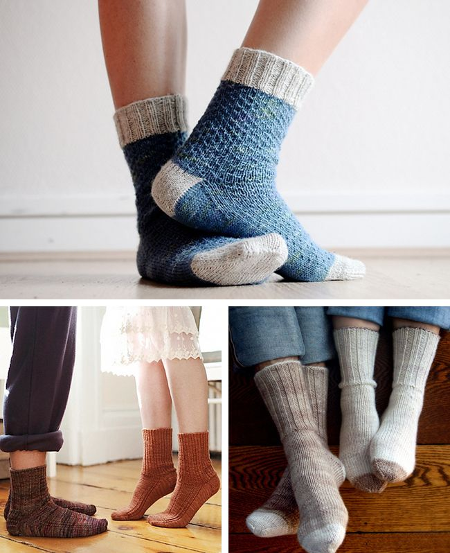 I, too, am not a sock knitter. But like Karen who wrote this blog ...