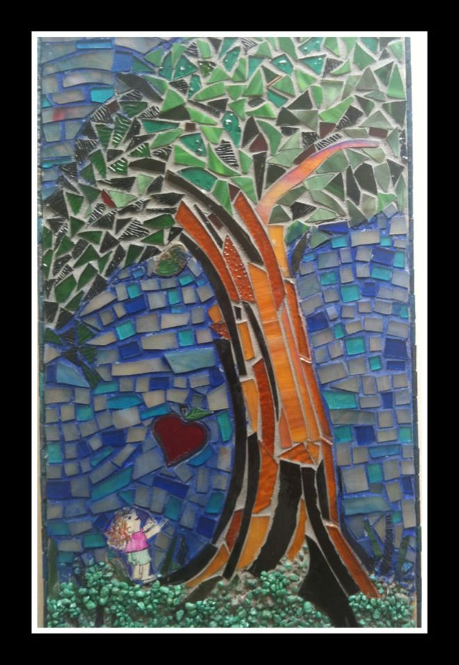 Mosaic by Eileen Palmer  The Giving Tree