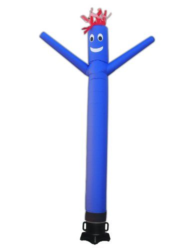 Torero Inflatables 10ft Tube Man Sky Puppet Air Dancer And Fly Guy Blower Combo Set Inflatables Inflatable Gag Gifts