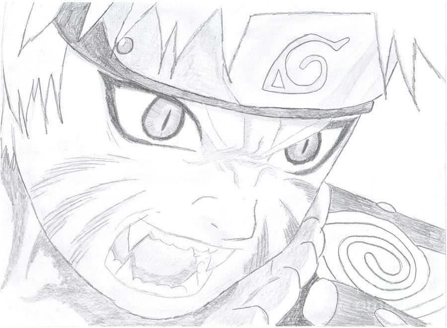 Naruto Kyuubi By Martina Jirakova Naruto Drawings Naruto Sketch