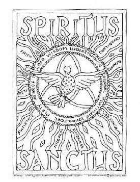 catholic church symbols coloring pages - photo#19