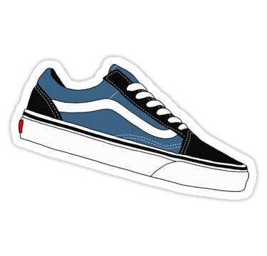 639f7ad4766 Vans Old Skool - Black and Blue