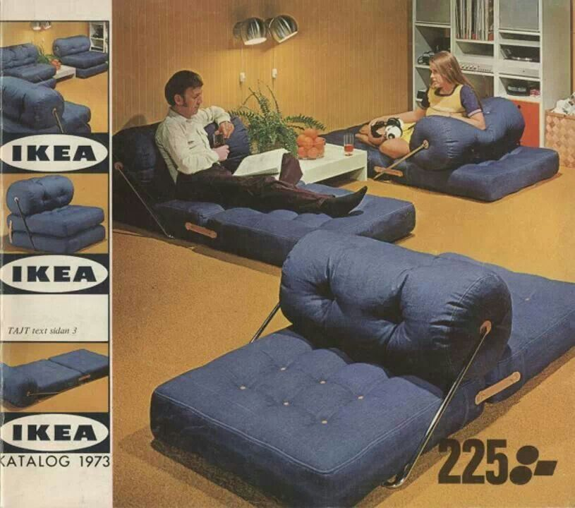 Ikea 70s Vintage Floor Seating