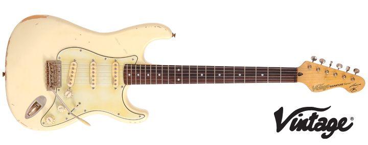 Vintage V6mr Thomas Blug Signature Edition Guitar Guitar Vintage Guitars Body