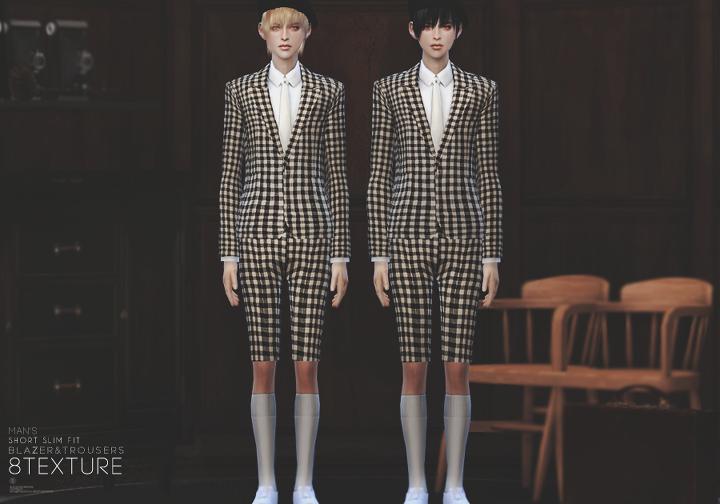 S4* Short slim pit suit :: Fascination
