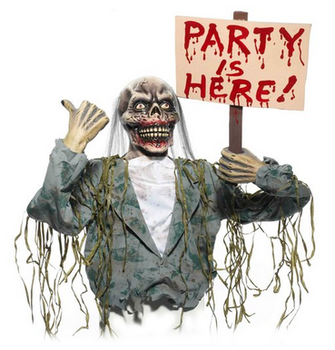 zombie themed halloween party supplies and ideas fun themed party ideas - Zombie Party Supplies