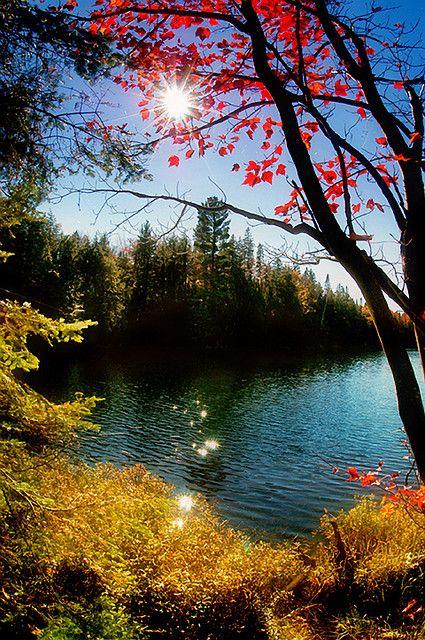 Peck Lake, Algonquin Park, Ontario.