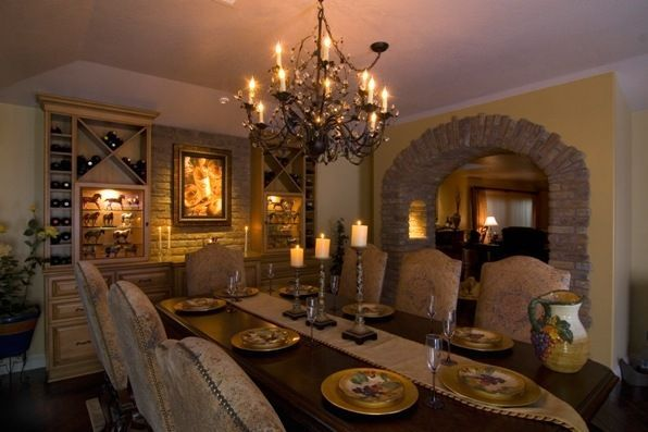 wine themed dining room ideas | wine themed dining room in 2019 | Tuscan house, Tuscan ...