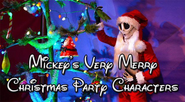 Mickey\u0027s Very Merry Christmas Party map with character locations