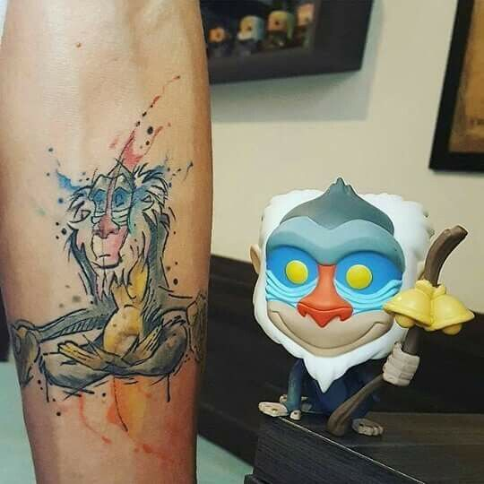 I like the water color look | rafiki | Pinterest | Tattoo ...