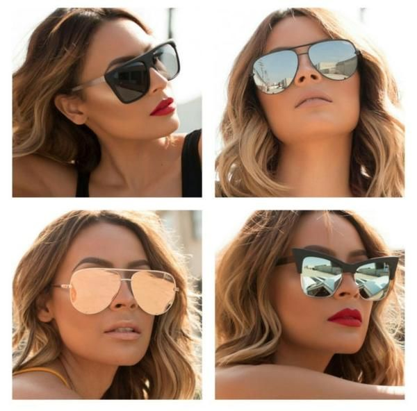 f97b7ff55c4 Quay x Desi Perkins High Key Gold   Pink Sunglasses