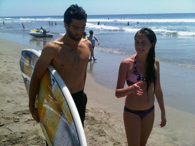 Pablo Andjuar - Acapulco Surfer