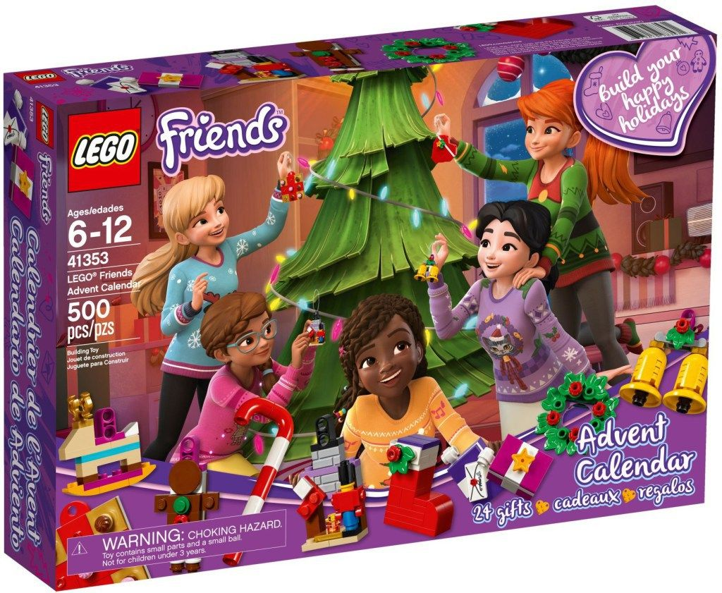 These 2018 Lego Advent Calendars Are 24 Days Of Awesome Holiday