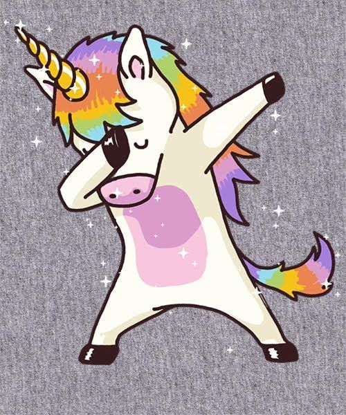 Dabbing Unicorn A T Shirt By Vomaria At Unicorn Slime Et