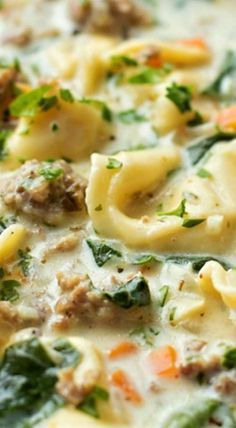 Creamy Sausage Tortellini Soup – Life Made Simple